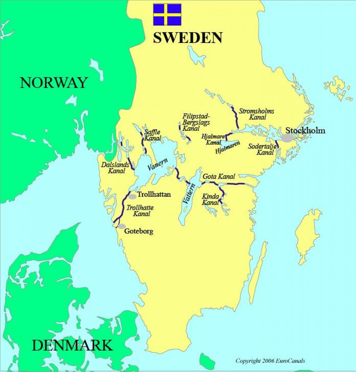 Karta Europa Pa Svenska.Svenska Kanalerna Karta Karta Over Svenska Kanalerna Norra Europa